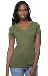 Royal Apparel 64030 - Womens Viscose Hemp Organic Cotton V-Neck