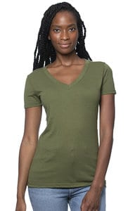 Royal Apparel 64030 - Womens Viscose Hemp Organic Cotton V-Neck