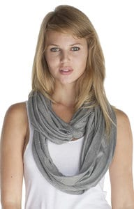Royal Apparel 73000 - Unisex Viscose Bamboo Organic Cotton Infinity Scarf