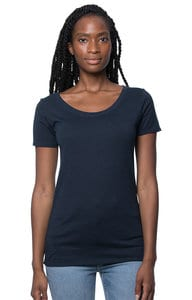 Royal Apparel 73112 - Womens Viscose Bamboo Organic Cotton Scoop Neck