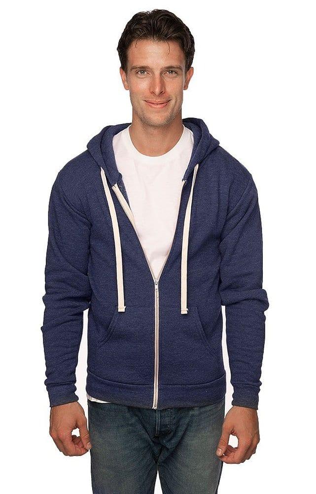 Royal Apparel 96050 - Unisex Organic RPET Fleece Zip Hoodie