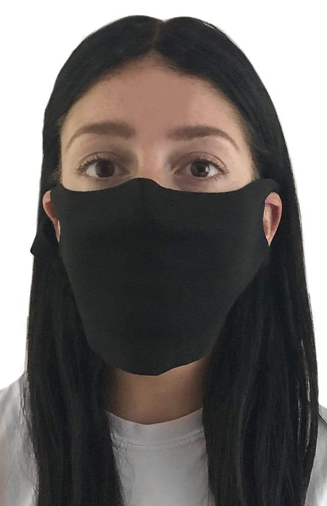 Royal Apparel fmjbam - Unisex Ltweight Visc Bamboo Org Jersey Face Mask