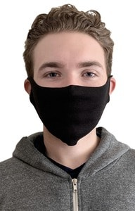 Royal Apparel fmjorg - Unisex Lightweight Organic Jersey Face Mask