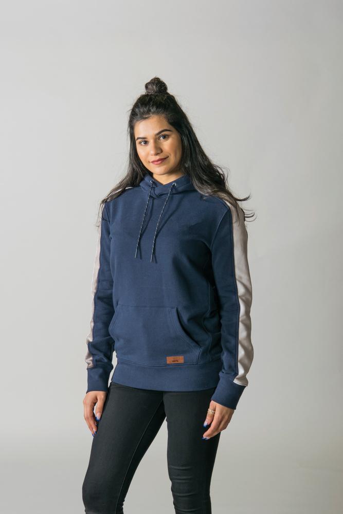 Timberlea T2002Y - Youth Fleece Colorblock Hood
