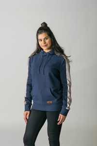 Timberlea T2002Y - Youth Fleece Colourblock Hood