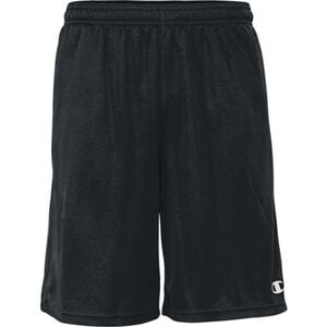 "Champion 8214BU - Adult Double Dry 10"" Training Short w/ Pockets"