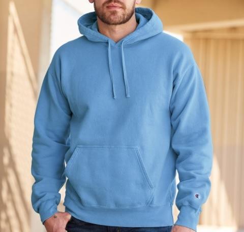 Champion CD450 - Adult Garment Dyed Fleece Hoodie