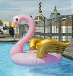 Needen BO4 - Flamingo with wings inflatable buoy