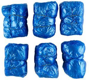 JBM 14781 - 100 plastic overshoes