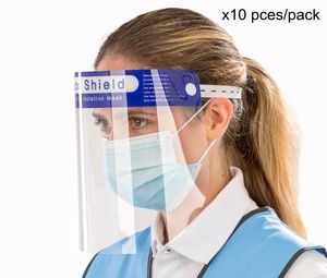 Visière de protection (pack de 10 pces) Protection RV008X