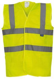 Yoko YK006 - High visibility honeycomb vest (HVW120)