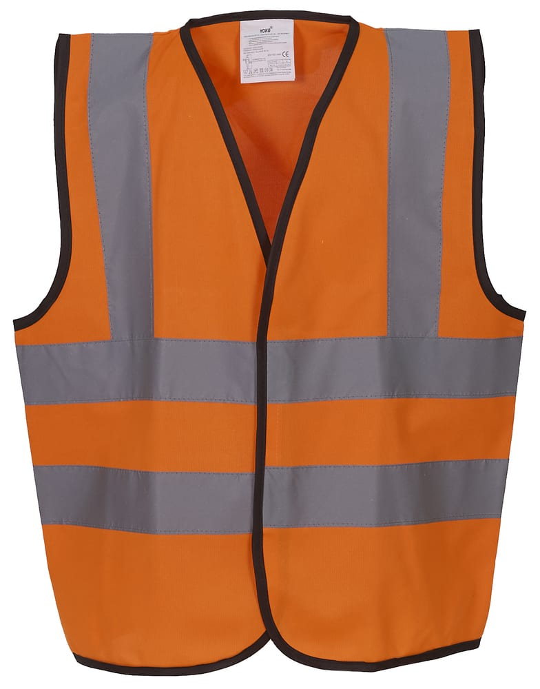 Yoko YK100 - High visibility 2 b&b vest Child (HVW100CH)