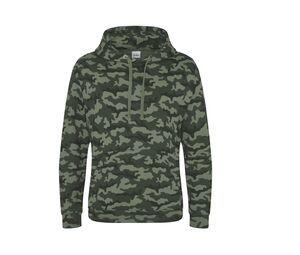 AWDIS JH014 - Camo Hooded Sweater