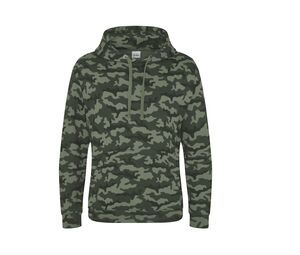 AWDIS JH014 - Hooded camo sweatshirt