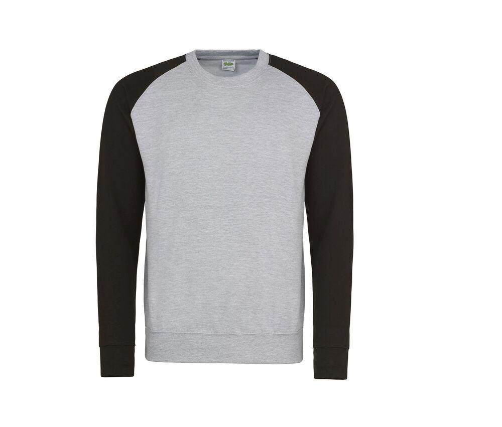 AWDIS JUST HOODS JH033 - Baseball Sweatshirt