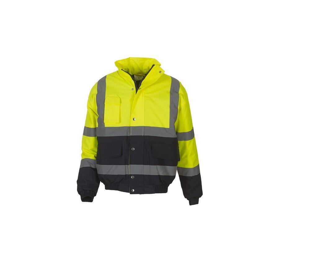 Yoko YK218 - High visibility bomber jacket