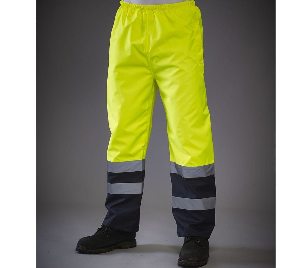 Yoko YK461 - High visibility two-tone overpants