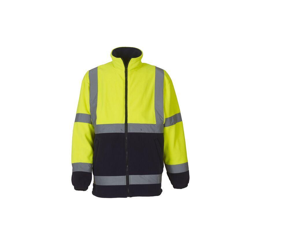 Yoko YKK08 - Thick high-visibility fleece jacket