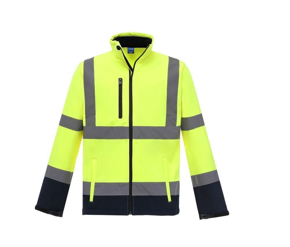 Yoko YKK09 - High Visibility Softshell Jacket