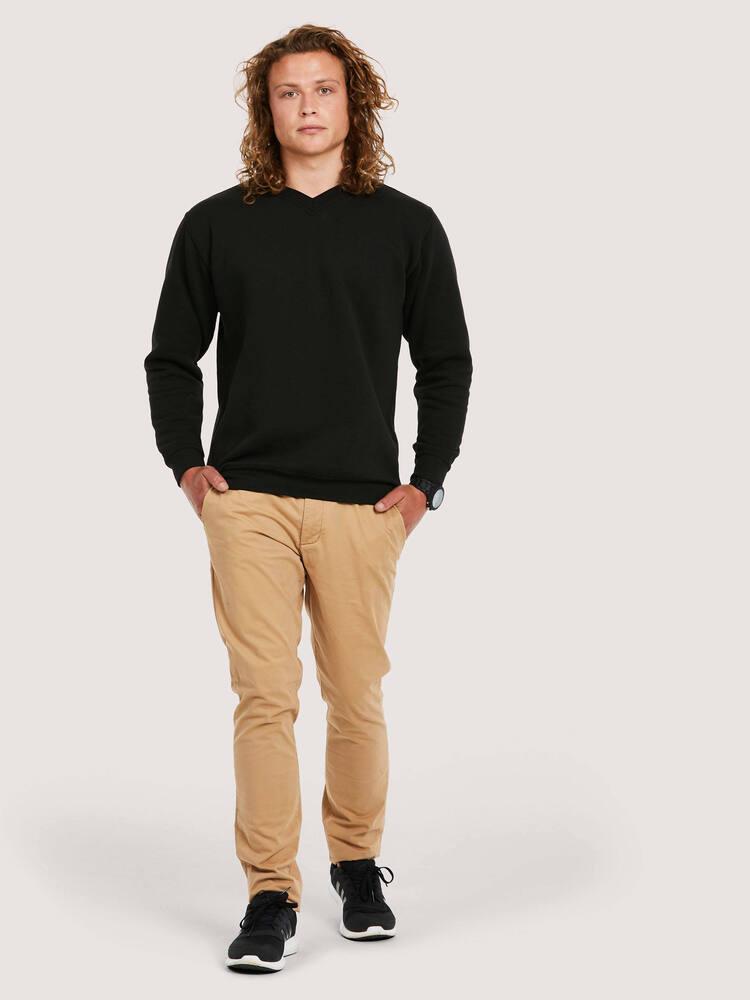 Uneek Clothing UC204 - Premium V-Neck Sweatshirt