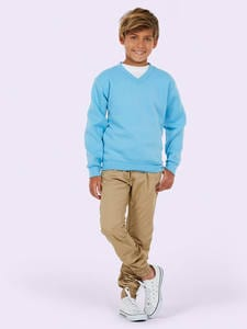 Uneek Clothing UC206 - Childrens V Neck Sweatshirt