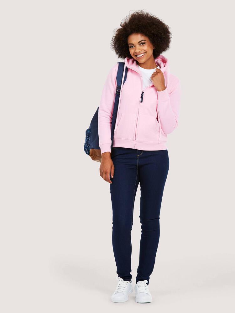 Uneek Clothing UC505 - Ladies Classic Full Zip Hooded Sweatshirt