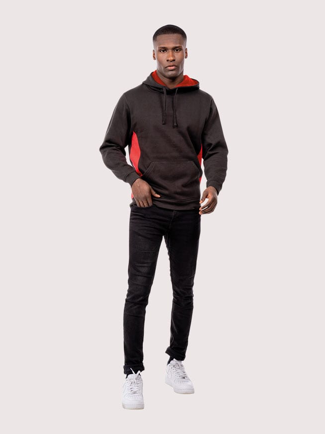 Uneek Clothing UC517 - Two Tone Hooded Sweatshirt