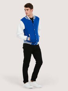 Uneek Clothing UC525 - Mens Varsity Jacket