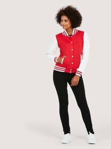 Uneek Clothing UC526 - Ladies Varsity Jacket