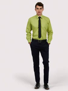Uneek Clothing UC709 - Mens Poplin Full Sleeve Shirt