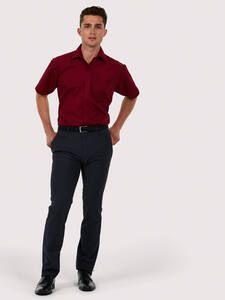 Uneek Clothing UC710 - Mens Poplin Half Sleeve Shirt