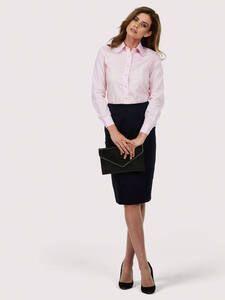Uneek Clothing UC711 - Ladies Poplin Full Sleeve Shirt