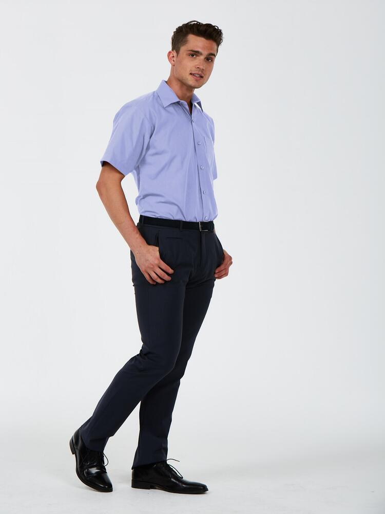 Uneek Clothing UC714 - Men's Short Sleeve Poplin Shirt