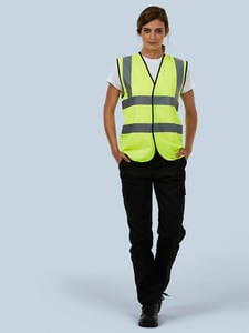 Uneek Clothing UC801 - Sleeveless Safety Waist Coat