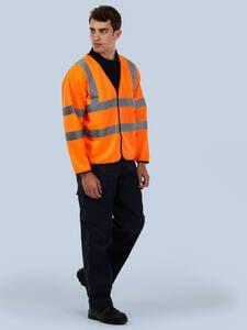 Uneek Clothing UC802 - Long Sleeve Safety Waist Coat