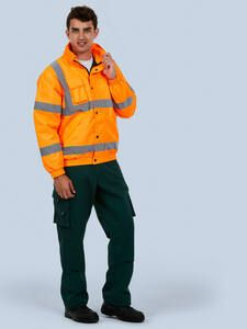 Uneek Clothing UC804 - High Visibility Bomber Jacket