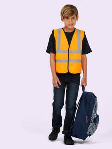 Uneek Clothing UC806 - Childrens Hi-Viz Waist Coat