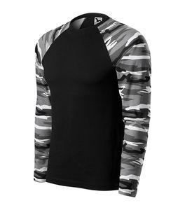 MALFINI 166 - Camouflage LS T-shirt unisex