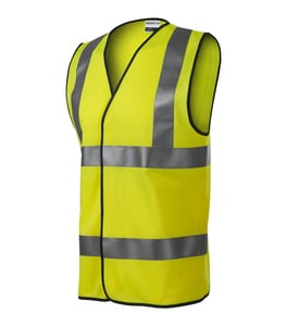 RIMECK 9V3 - HV Bright Safety Vest unisex