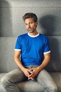 Promodoro 3070 - T-shirt contrasté pour hommes
