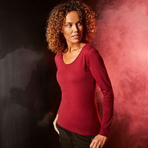 Promodoro 4095 - T-shirt LS pour femmes EXCD