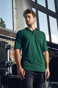 Promodoro 4100 - Mens Heavy Polo Pocket