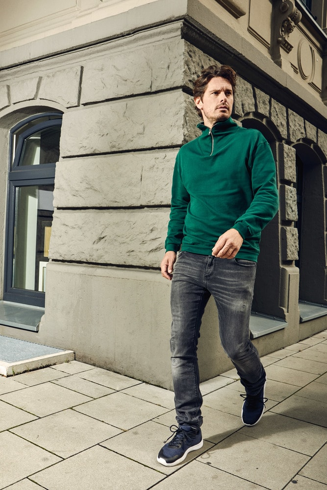 Promodoro 5050 - Men's Troyer Sweater