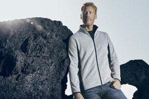 Promodoro 7700 - Veste polaire en tricot pour hommes