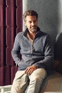 Promodoro 7720 - Veste polaire en tricot pour hommes C⁺