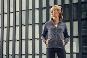Promodoro 7725 - Veste polaire en tricot pour femmes C⁺