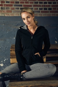 Promodoro 7981 - Womens Hooded Fleece Jacket