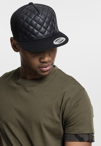 Flexfit 6089Q - Diamond Quilted Snapback