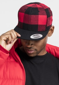 Flexfit 6089RC - Checked Flanell Snapback
