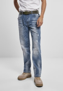 Brandit BD1015 - Will Washed Denim Jeans